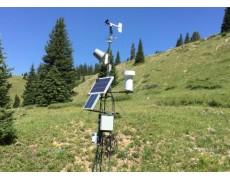 Monitoring Kelembapan Tanah Di Hutan Konifer Dengan Weather Station