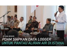 ISTANA BOGOR: PDAM Siapkan Alat Data Logger Untuk Pantau Aliran Air di Istana