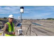 Instalasi Weather Station Data Logger RX-3000 di THIESS Mining Project Melak