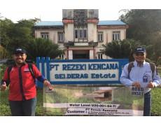 Kunjungan Dan Training Water Level Di PT Rezeki Kencana