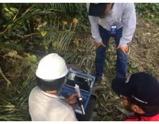 Pemasangan HOBO Water Level di PT Rimba Matoa