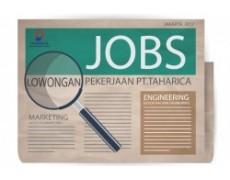 Lowongan Pekerjaan PT Taharica Group 2018