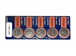 Replacement batteries (Pack of 5) - HRB-TEMP-1